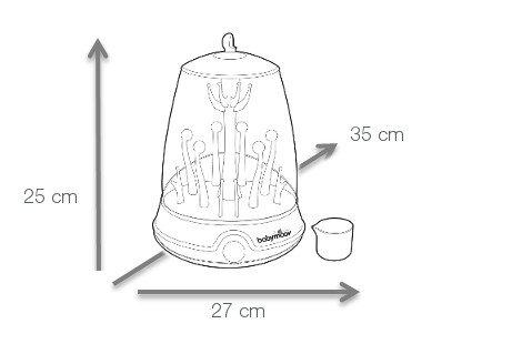 סטריליזטור-גודל